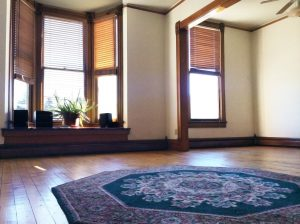 The light and spacious Studio is perfect for small classes and meetings.