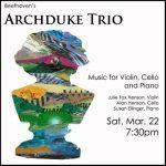 Archduke Trio at the Blue Sage