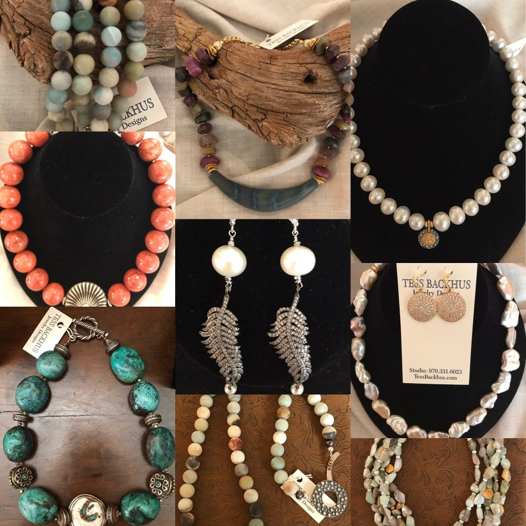 Tess Backhus Jewelry Trunk show picture